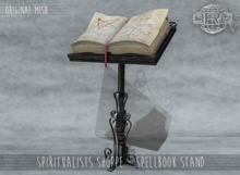 -DRD- Spiritualists Shoppe - Spellbook Stand