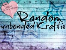 Random Unbonded Kraftie