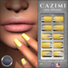 CAZIMI: Nails - Fashionista - Hot Yellow SALE RACK