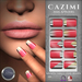 CAZIMI: Nails - Fashionista - Hot Red SALE RACK