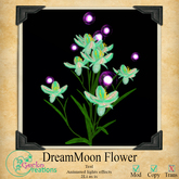 GC-DreamMoon Flower Teal