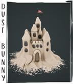 dust bunny . sand castle