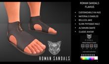Feral - Roman Sandals Flavius