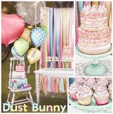 dust bunny . pastel celebration