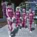 "Almut Brunswick snow suit ""Jenna"" pink polkadots"