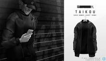 taikou / suede bomber jacket (DEMO)