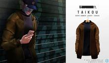 taikou / suede bomber jacket (CHOCO)
