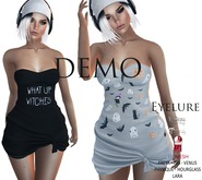 Eyelure Jersey Knotted Dress DEMO
