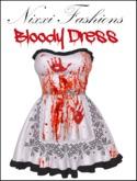 Nixxi Fashions - Bloody Dress Perfect for Halloween