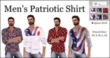 Nixxi Fashions - Men's High Profile Patriotic Shirt (6 Options)