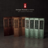 DYNASTY - Antique Screen - Brown