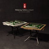 DYNASTY - Mahjong Table - White