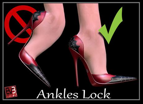*!* Ankle Lock   -- wear to unpack