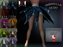 .:S.C:. Umbrella Skirt - All 10! HUD Fatpack - Slink Hourglass