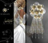 Ecarlate - Bridal bouquet Gold / Bouquet de mariee Dore - Juillethy