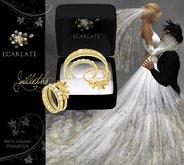 Ecarlate - Engagement Ring + Alliance Women & Men - Gold - juillethy