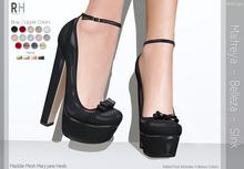 !Rebel Hope - Maddie Mesh Shoes - Black