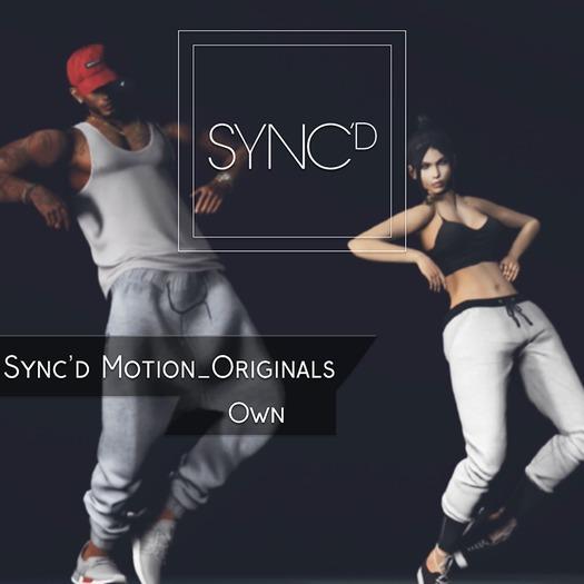 Sync'd Motion__Originals - Own Pack