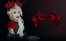 Rosalin Spike Crown - Red