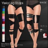[ SAKIDE ] Yleria Leg Straps