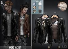 GIZ SEORN - Moto Jacket [Black]
