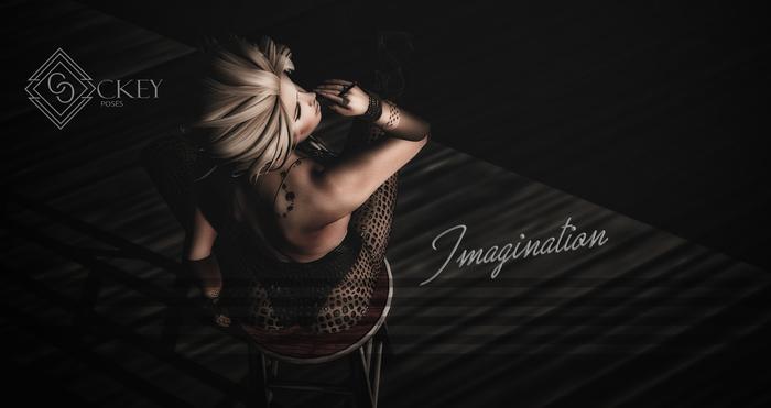 CKEY Poses - Imagination (Single Female Static Pose)