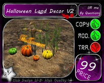 New Halloween Land Decor V2