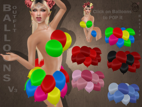 #187# Balloons Outfit V3