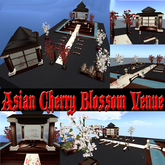 ASIAN CHERRY BLOSSOM WEDDING VENUE with animations poses and decorations Save 500L$ in Xstreet NOW!