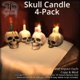 [DDD] Skull Candle Fourpack