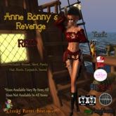 Anne Bonny's Revenge Pirate Red