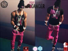 {RC}Fight Cancer Outfit  Slim
