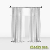 :CP: Draped Curtain - Sheer
