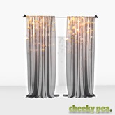 :CP: Draped Curtain - Stars