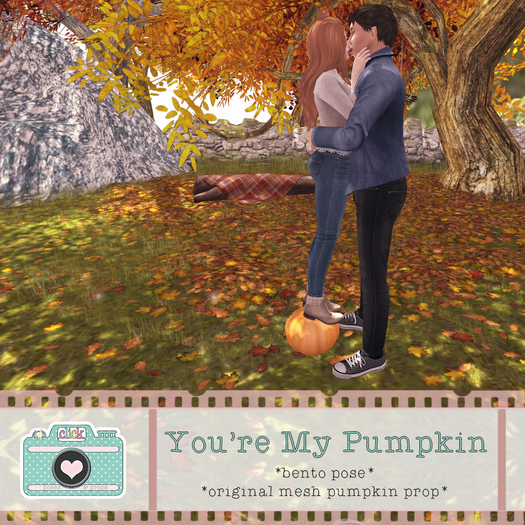 .click. You're My Pumpkin - Bento Pose