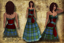 *Inspirations* Tartan Dress- MacLeod Hunting