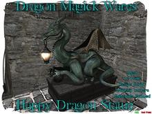 Dragon Magick Wares Happy Dragon Statue Resize Mesh