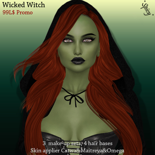 *Spicy* Wicked witch skin applier DEMO