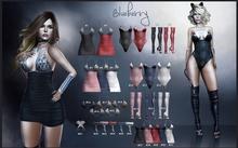 #26 Blueberry - Energy - COMMON - Choker - White *B*