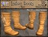 *LightStar -Tan Native American Indian Boots