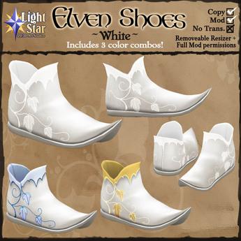 *LightStar - Elven Shoes-White