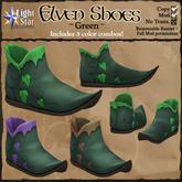 *LightStar - Elven Shoes-Green