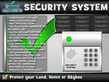 Mint Home Security System