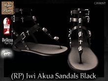 (RP) Iwi Akua Sandals Black