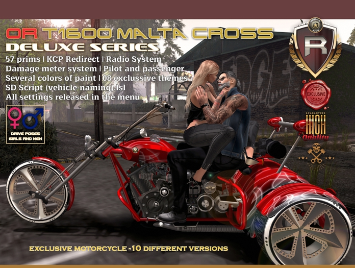 OR T1600 MALTA CROSS DELUXE SERIES (08 THEMES)