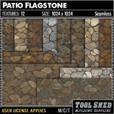 Tool Shed - Patio Flagstone