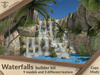 Waterfalls builder kit (9 models & 3 textures) .:JC:.