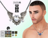 [SuXue Mesh] FATPACK Harley Necklace HUD Resizable For MALE
