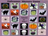 *TWO* Halloween Memory Games (Concentration game)