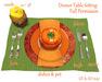 [ FULL PERM ] Thanksgiving Dinner Table Set